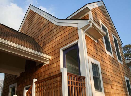 The New Siding Material Vinyl Shakes Siding For Your Residence