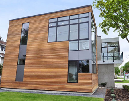 The various features textures and types of wood siding walls for Types of siding